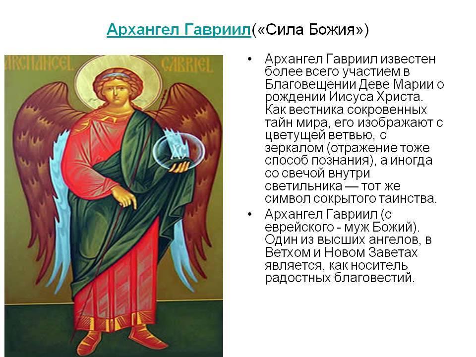Молитва иеремиилу архангел