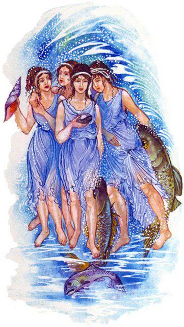 Нереиды — морские сестры из греческой мифологии