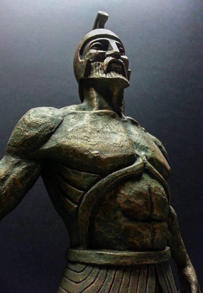 Талос — изготовленный из меди защитник острова крит