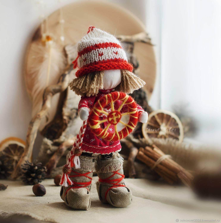 Оберег спиридон солнцеворот – значение куклы и правила самостоятельного изготовления