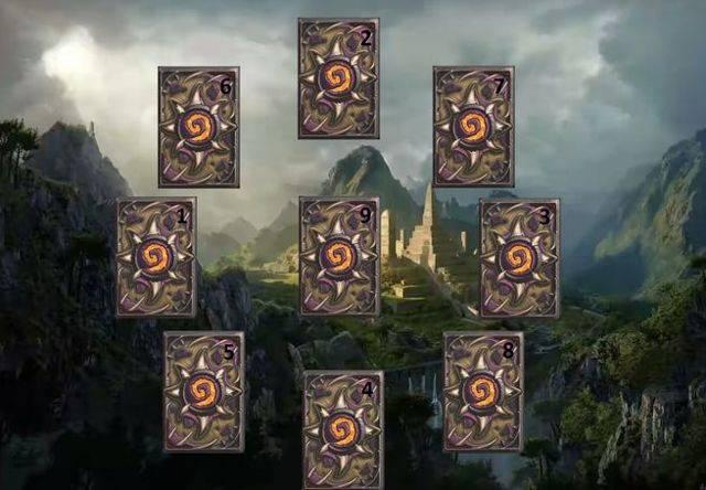 Расклад 9 карт ленорман