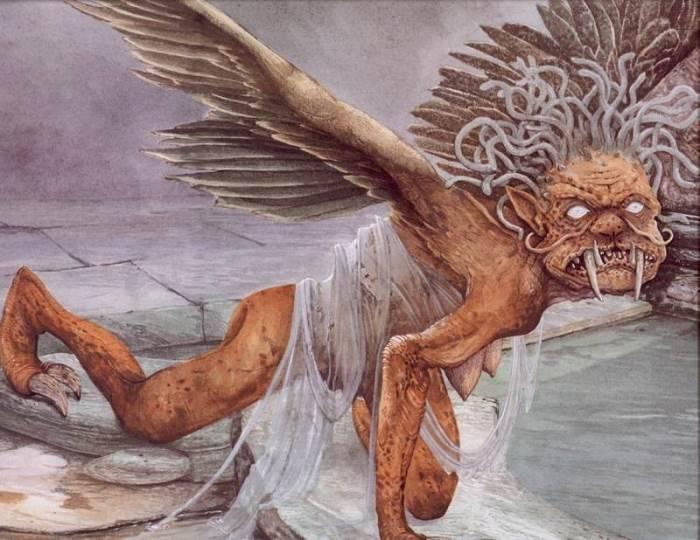 Странные божества и духи рима