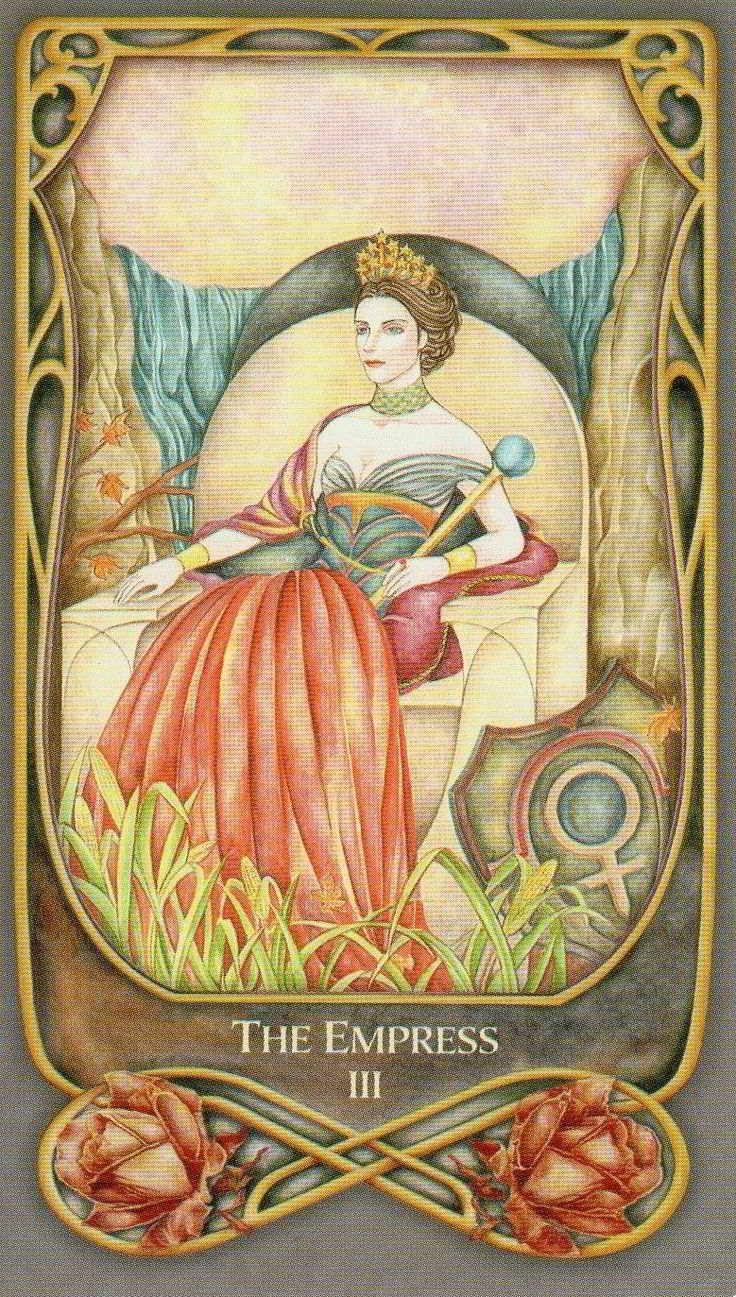 Старший аркан императрица – значение карты таро