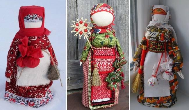 Обережное рукоделие. кукла коляда. | страна мастеров