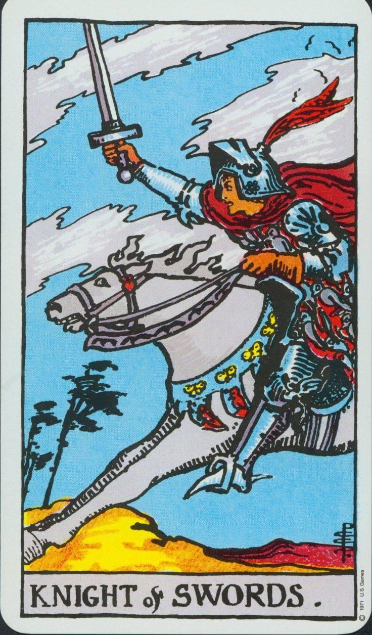 Рыцарь жезлов (посохов, булав, скипетров) таро: значение в отношениях, финансах