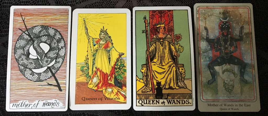 Дама (королева) посохов (жезлов): значение в отношениях, любви
