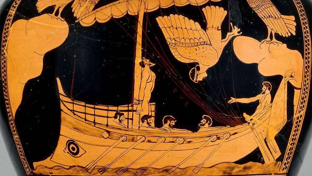 Сирены — губительницы моряков из древнегреческих легенд