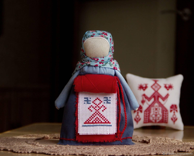 Куклы обереги: славянские, своими руками, пошаговый мастер-класс.