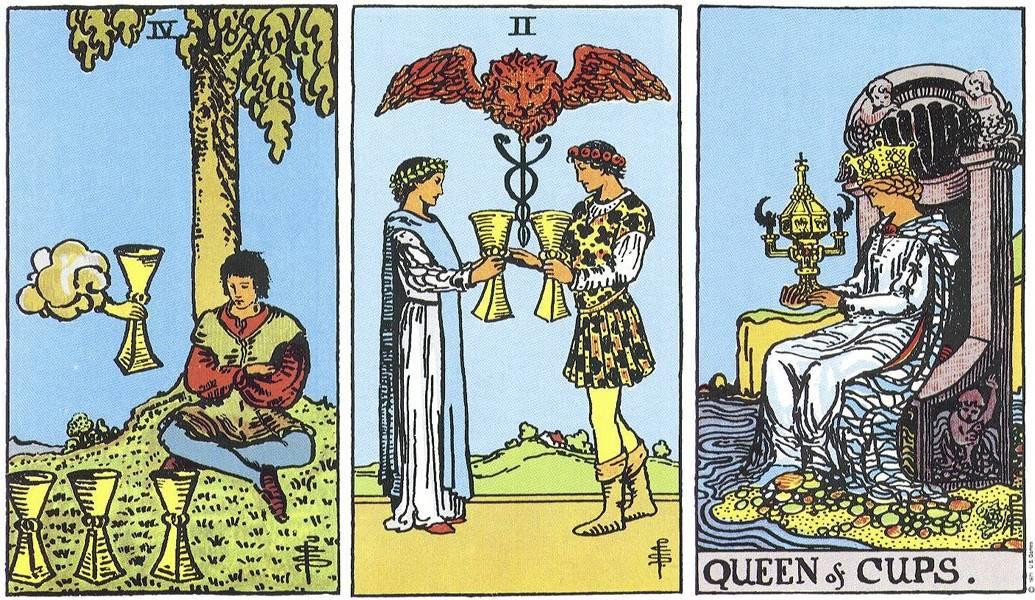 Король кубков (чаш): значение таро в отношениях, любви и работе