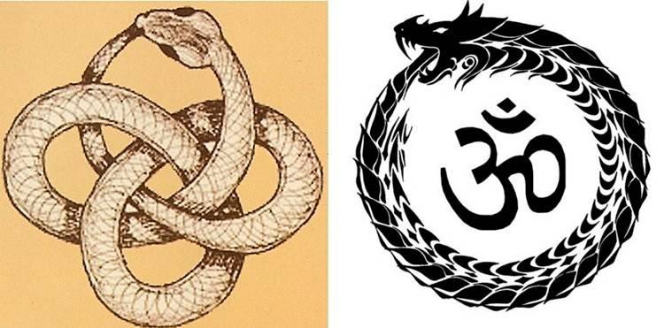 Змей уроборос: значение символа
