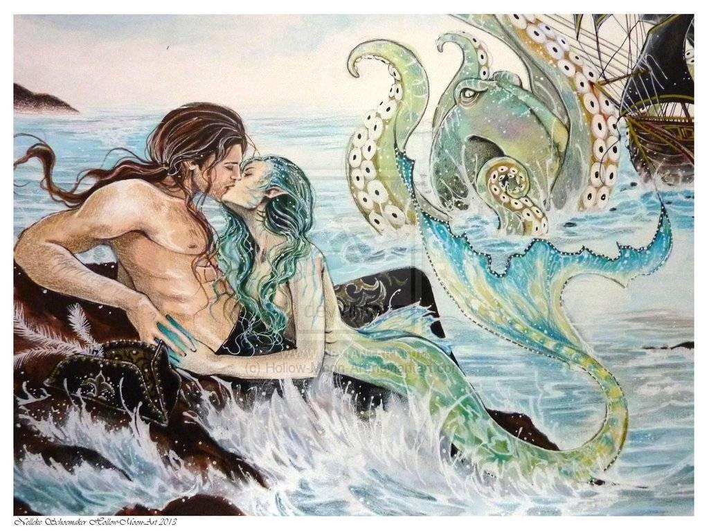 Морская дева | мифологическая энциклопедия вики | fandom