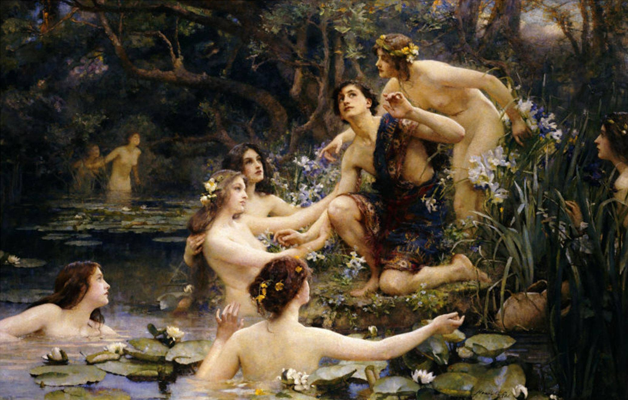Кто такие наяды? наяды — обитательницы пресных водоемов древней греции лондонская национальная галерея