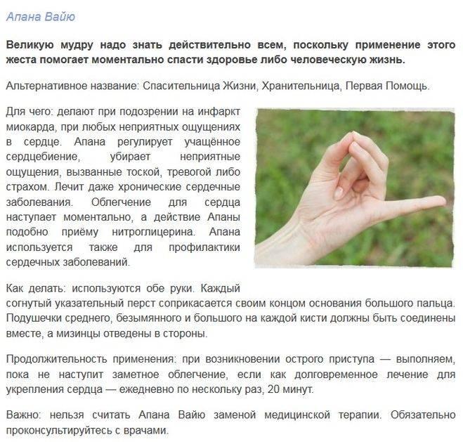 Мудры пальцев рук: их значение, описание, техника выполнения, фото