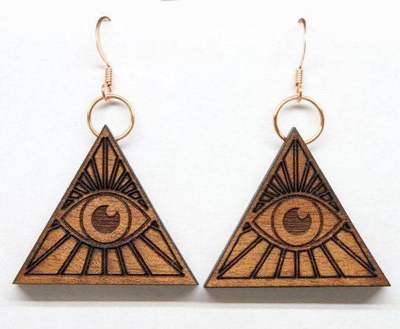 Всевидящее око, глаз гора или глаз в треугольнике