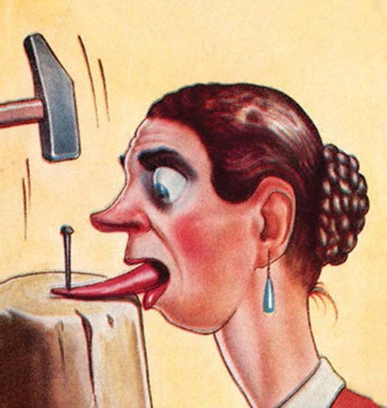 Примета — прикусить язык: значение поверья, и к чему это, если случилось во время еды, и почему, когда просто так, как избавиться от последствий?