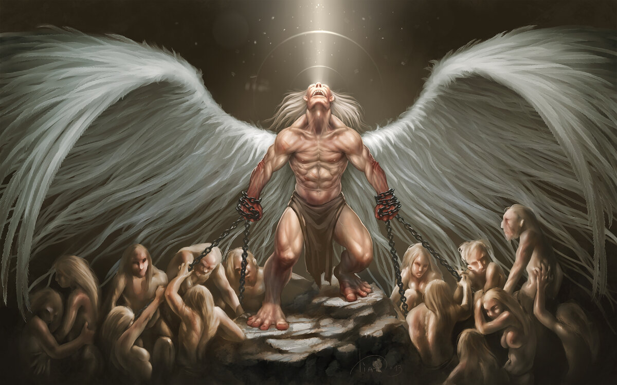 Что значит падший ангел и как он выглядит? имена падших ангелов