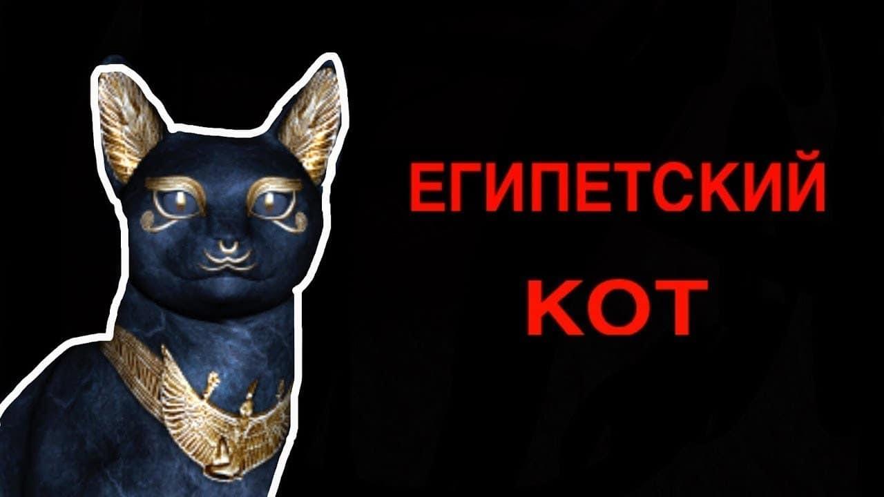 Как вызвать египетского кота