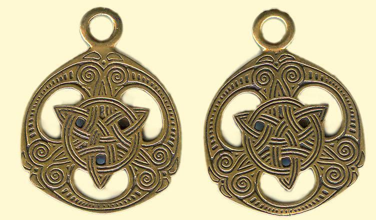 Кельтский крест оберег — амулет