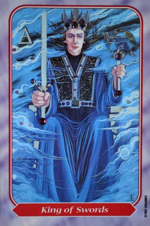 Значение карты таро — король мечей