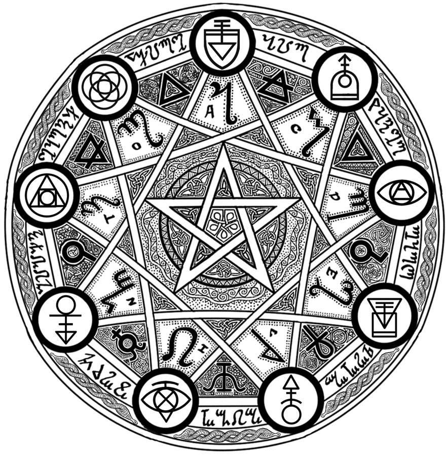 Значение оккультных символов и знаков