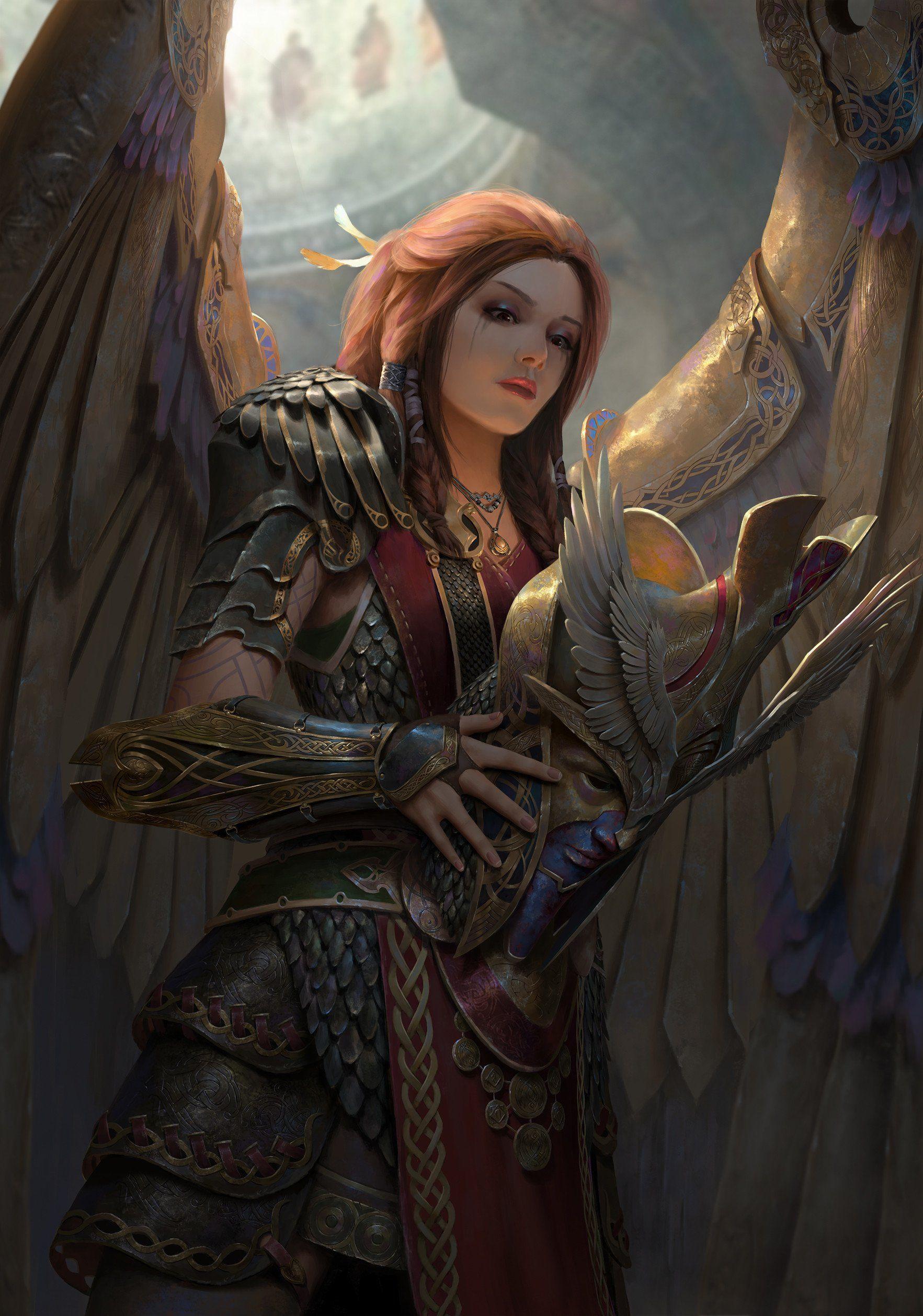 Валькирия - это мифический персонаж? кто такие валькирии, и какими были эти девы-воительницы?