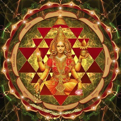 Мантры лакшми богине процветания и богатства для привлечения денег текст
