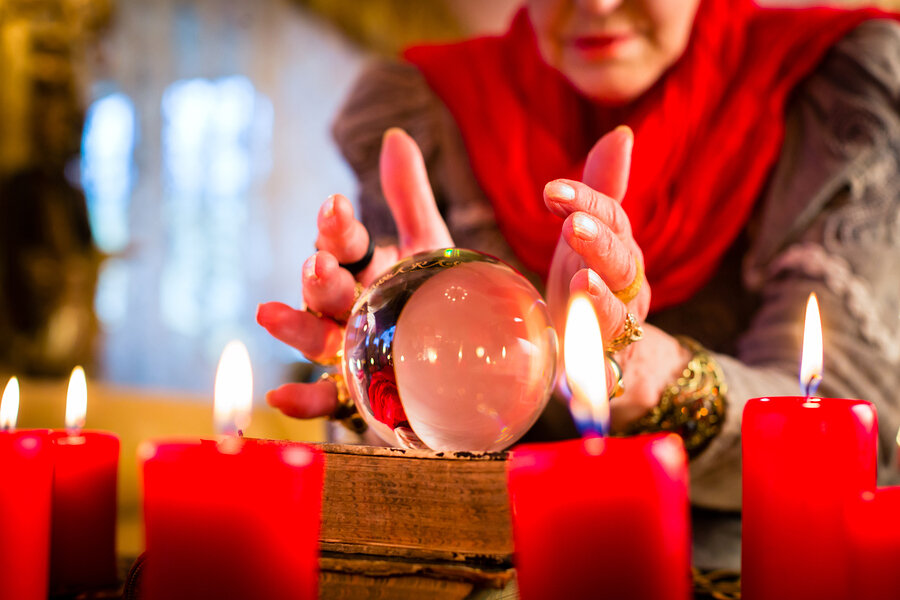 Магический шар, гадание на магическом шаре, работа с магическим шаром