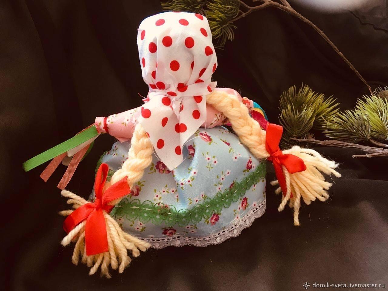 Мастер-класс по изготовлению куклы-оберега Манилка