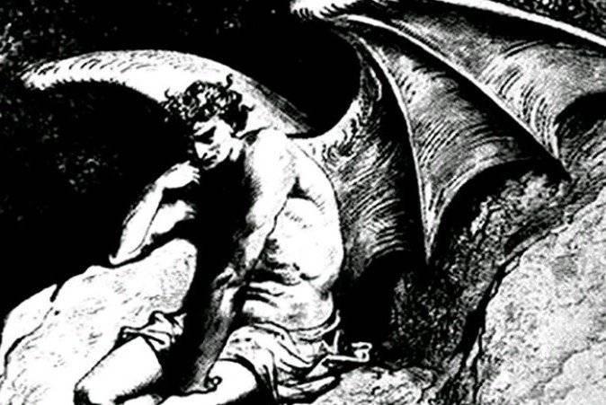 Падение люцифера, его изгнание из рая и музей в ватикане