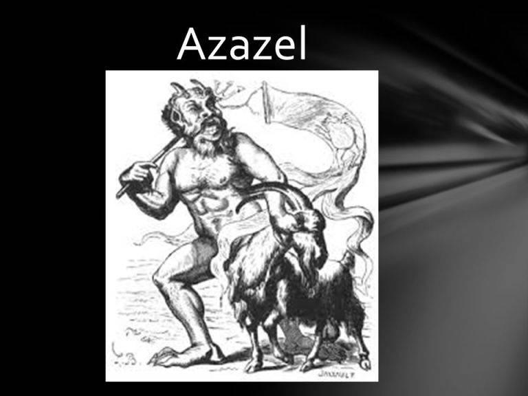 Азазель — википедия