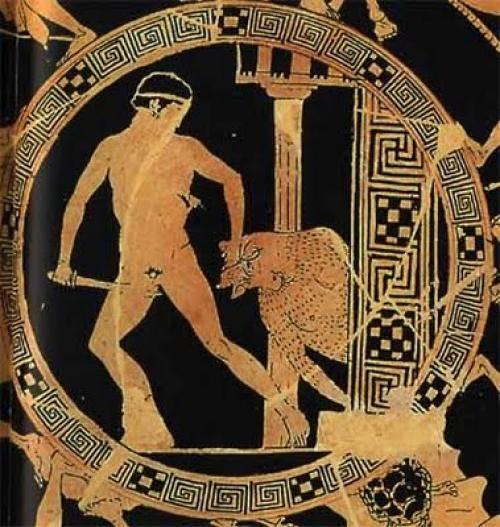 Минотавр зловещий обитатель лабиринта на острове крит