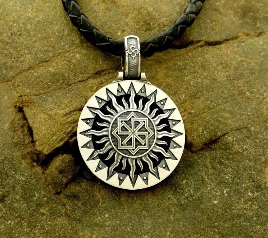 Солнцеворот символ солнца – славянские обереги