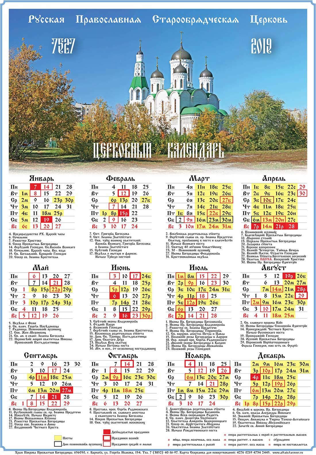 Церковные православные праздники в сентябре 2020 года