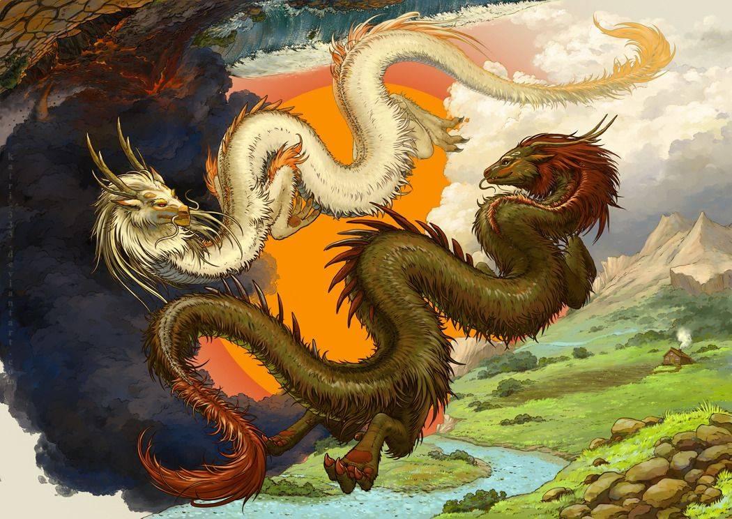 Китайский дракон иероглиф, дракон в китайской мифологии, как выглядит и что символизирует