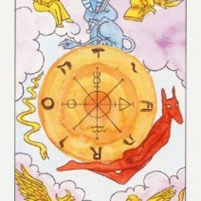 10 аркан таро – колесо фортуны: значение, описание, сочетание с другими, карта дня
