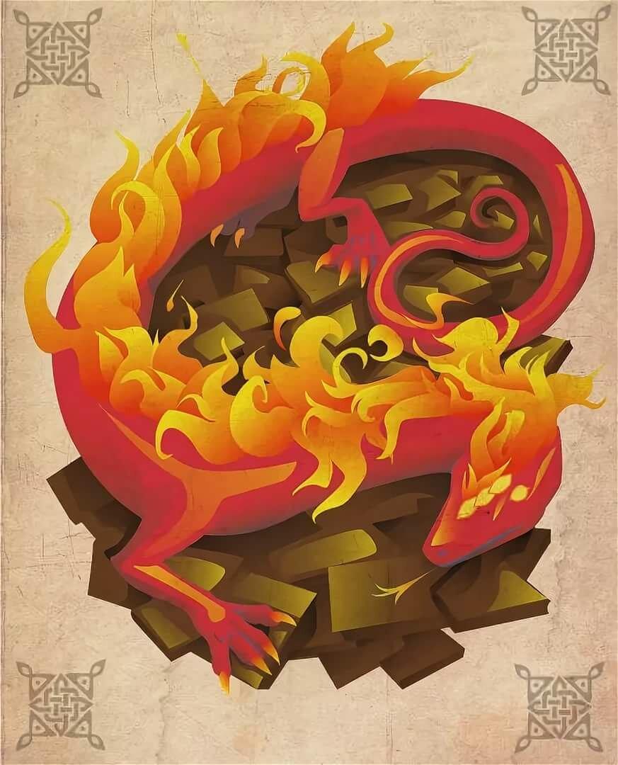 Элементаль огня (homm v)   меч и магия вики   fandom