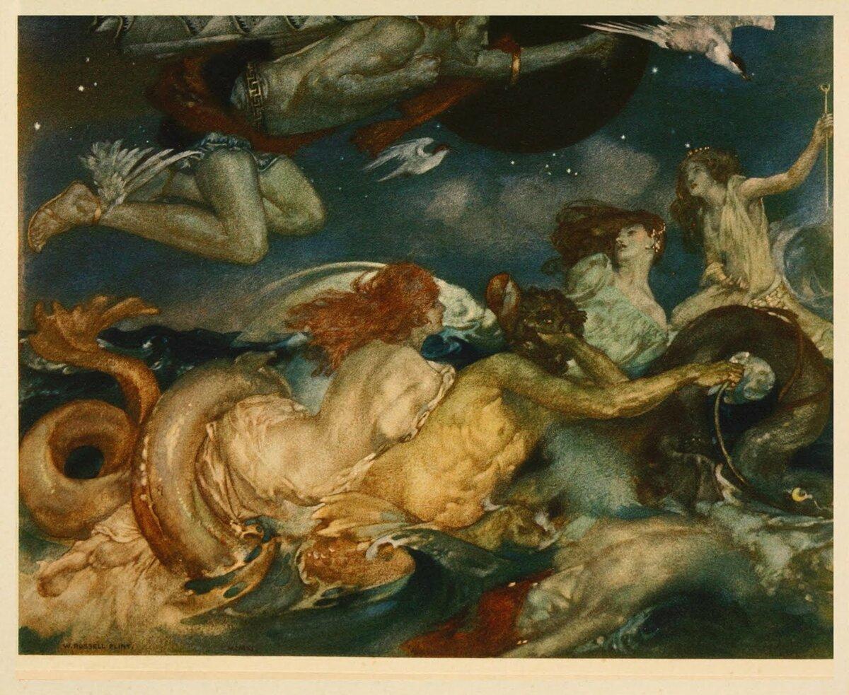 Мифы и легенды * нерей и нереиды. нереиды — морские сестры из греческой мифологии в греческой мифологии нереида олицетворение спокойного моря