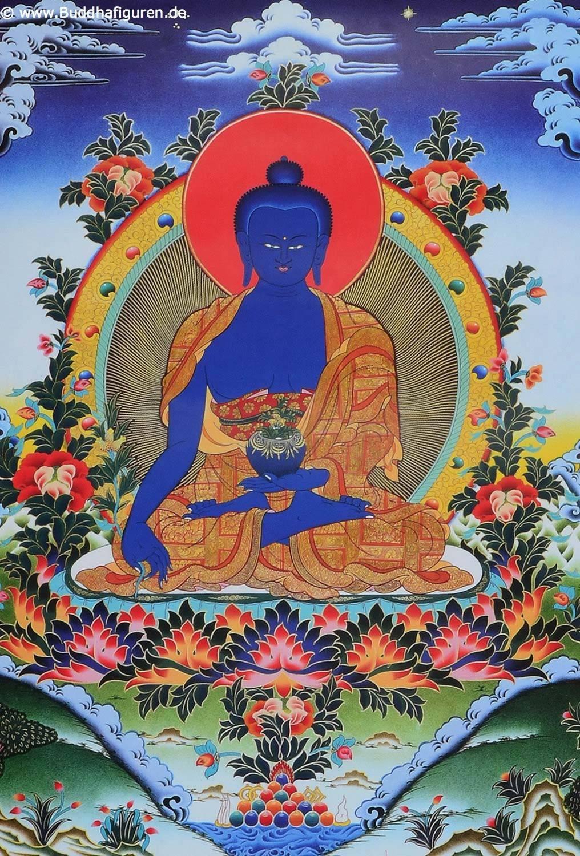Текст исцеляющей мантры будды медицины бхайшаджьягуру