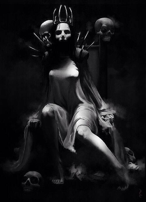 Королева ада касикандриэра и связь с люцифером