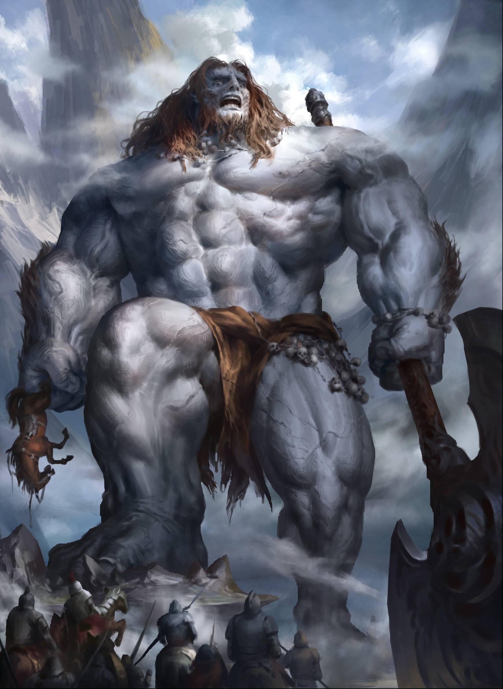 Мифы и легенды о великанах восходят к каждой культуре в каждом уголке мира | история