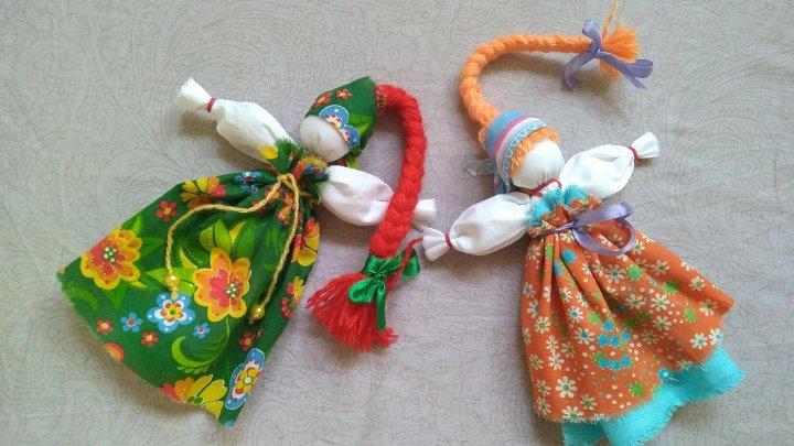 Тряпичная народная кукла веснянка схема изготовления. веснянка с косой — народная тряпичная кукла своими руками