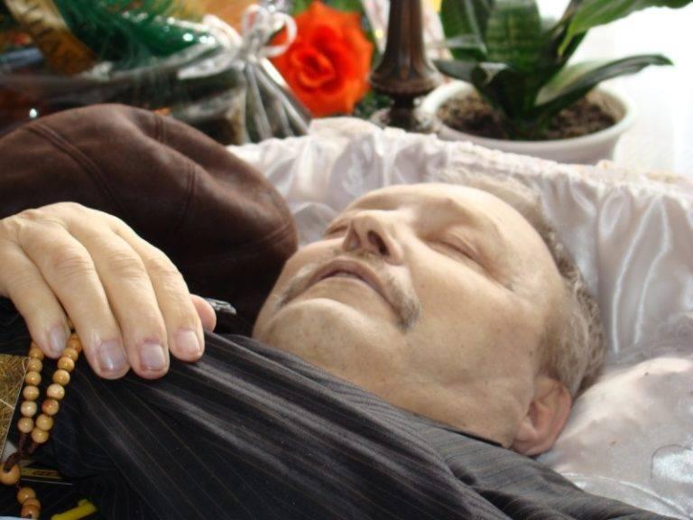 Похороны незнакомого человека