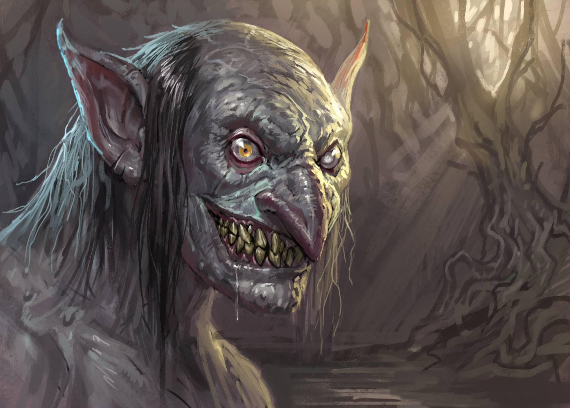 Имп — зловредное существо, любящее розыгрыши