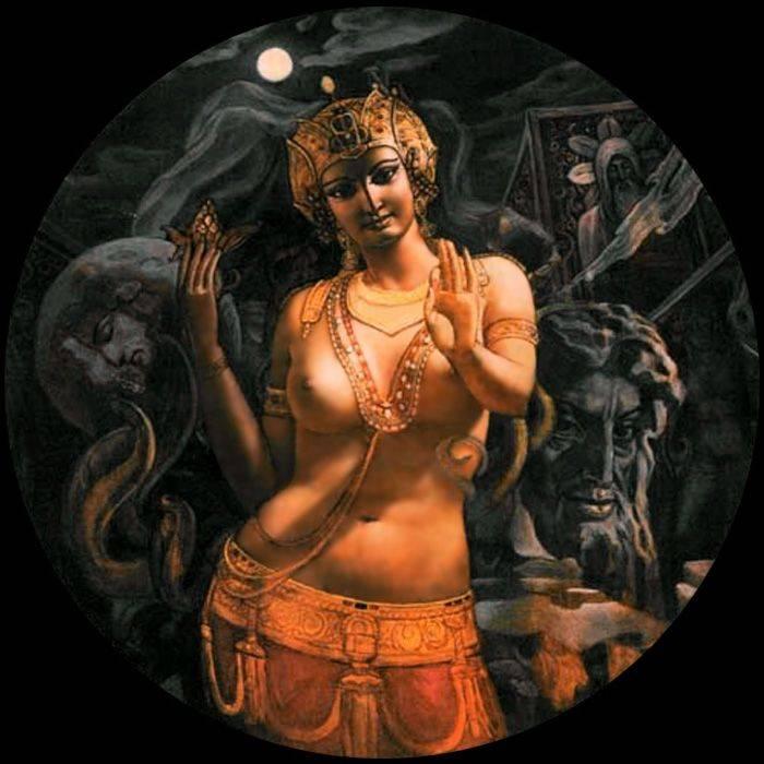 Демоница лилит - жена люцифера и мать всех демонов