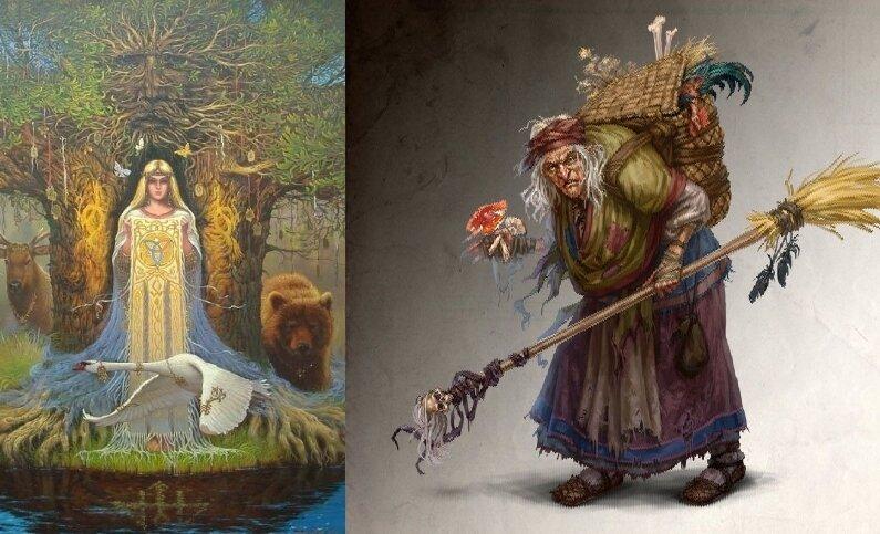 Благодетельница или злодейка: баба-яга - противоречивые факты о ведьме в славянском фольклоре