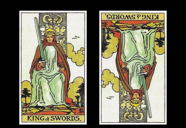 Дама (королева) мечей таро: значение в отношениях, любви