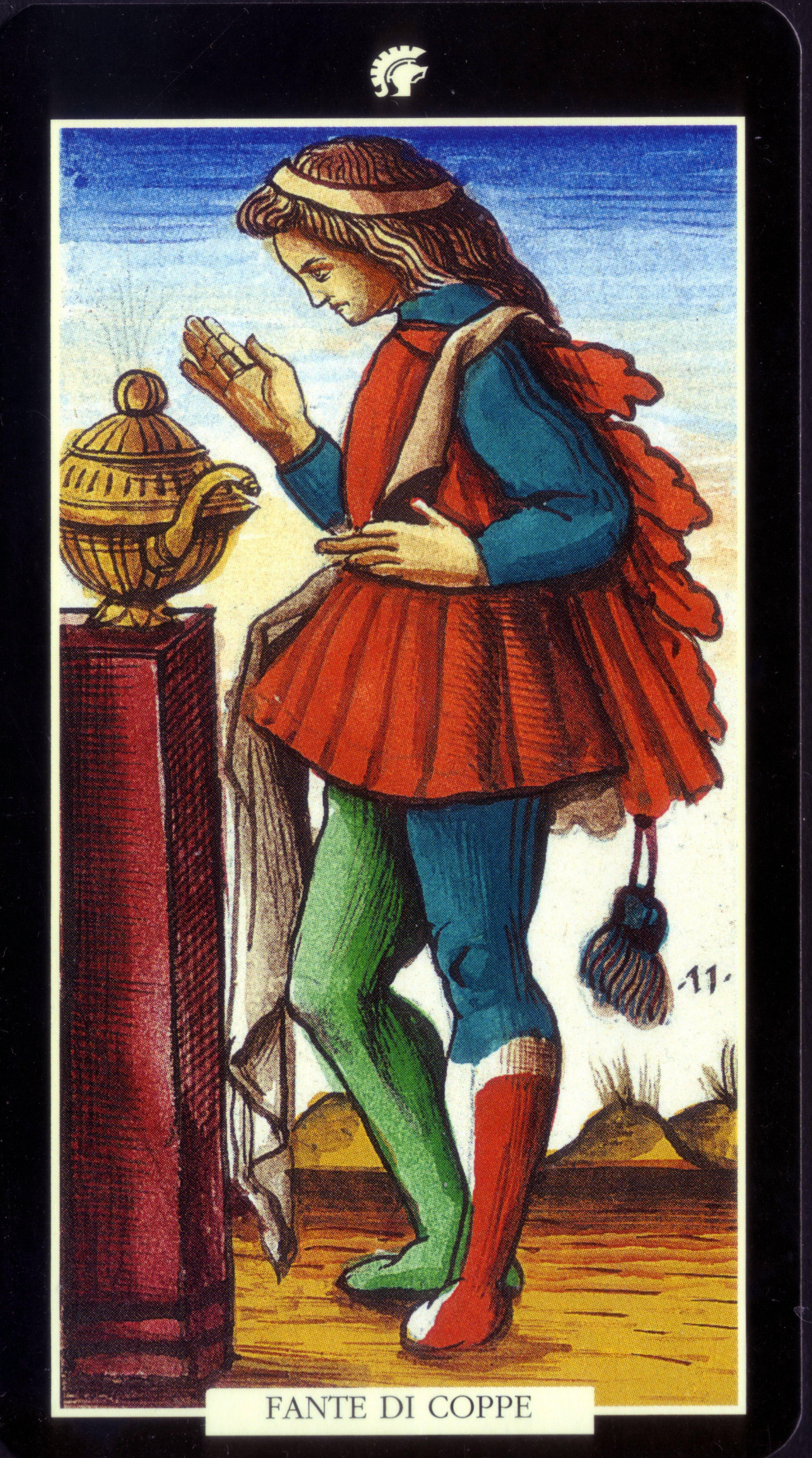 Значение карты таро — девятка кубков (чаш)