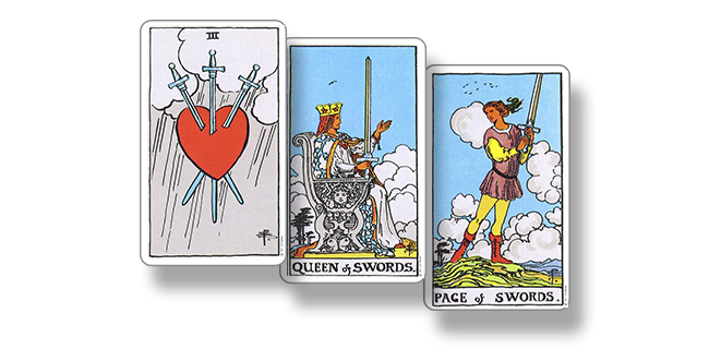 5 мечей – значение карты таро
