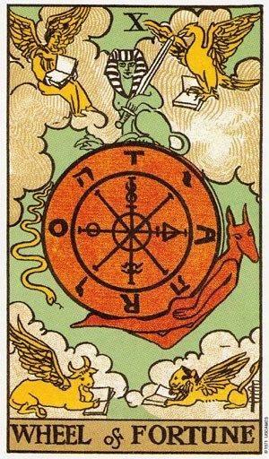 Карта таро колесо фортуны