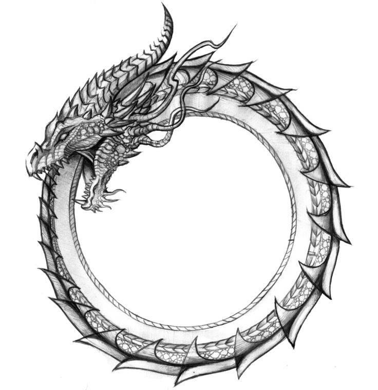 Уроборос — змея пожирающая свой хвост